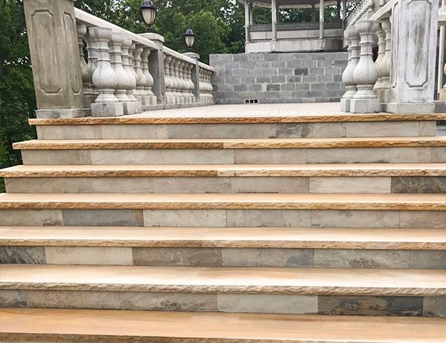 STAIRS OF MARBLE